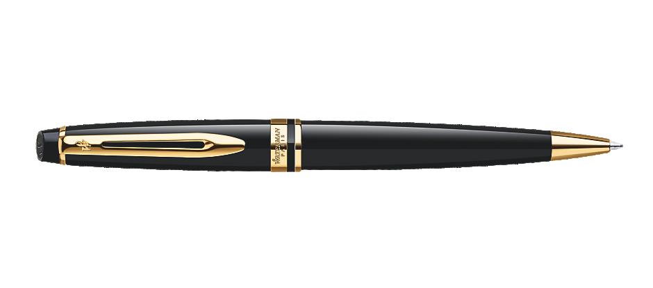 Expert Black Ballpoint Pen GT