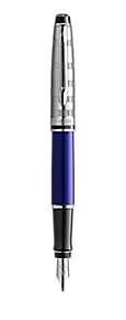 Deluxe Blue Fountain Pen CT