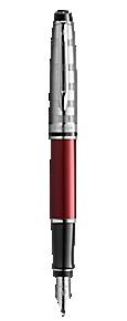 Stylo plume Deluxe rouge foncé CT