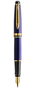 Stylo plume bleu GT