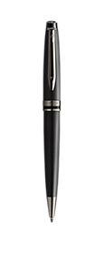 Metallic Black Lacquer Ballpoint Pen (Special Edition)