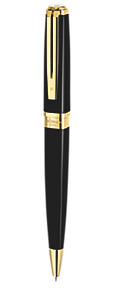 Slim Black Ballpoint Pen GT