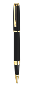 Slim Black Rollerball Pen GT