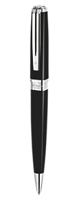 Slim Black Ballpoint Pen ST