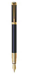 Black Fountain Pen GT
