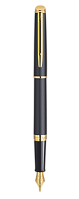 Essential Matt Black Fountain Pen GT