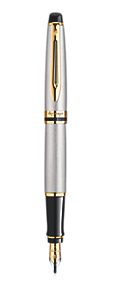 Stainless Steel Fountain Pen GT