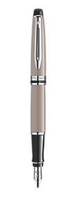 Stylo Plume Taupe CT