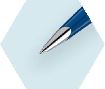Blue Ballpoint Pen ST