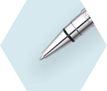 ブルーCT ボールペン