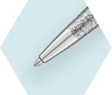Stylo Bille Deluxe Marbre Royal CT