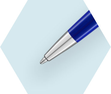 Essential Bright Blue Ballpoint Pen CT