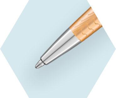 Deluxe Rose Wave Ballpoint Pen CT