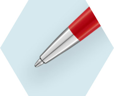 Stylo Bille Rouge Comète CT
