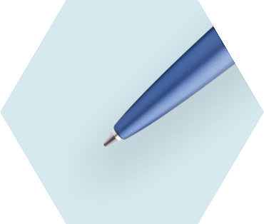 Blue Ballpoint Pen CT