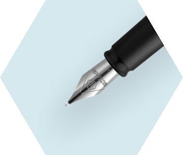 Blue Fountain Pen CT