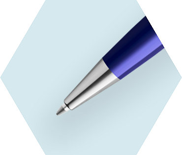 Essential Dark Blue Ballpoint Pen CT
