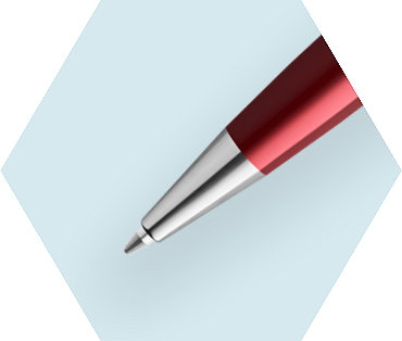 Essential Dark Red Ballpoint Pen CT