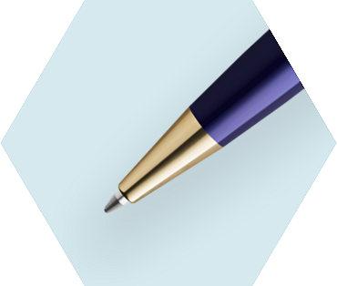 Blue Ballpoint Pen GT