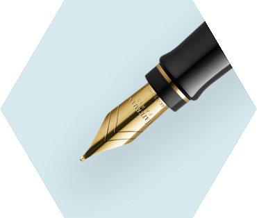 Stylo plume ivoire GT