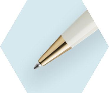 Ivory Ballpoint Pen GT