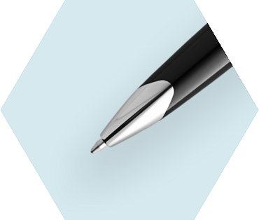 ブラック レザーCT ボールペン