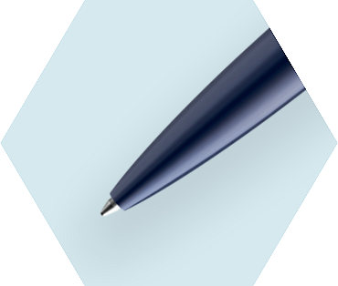 Essential Blue Ballpoint Pen CT