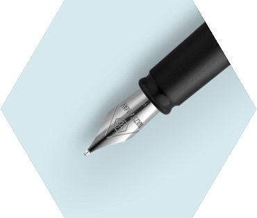 Pastel Blue Fountain Pen CT