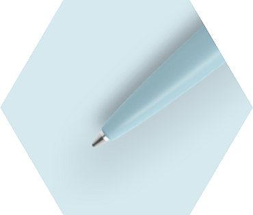 Pastel Blue Ballpoint Pen CT