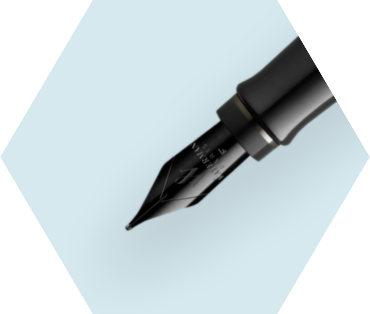 Metallic Black Lacquer Fountain Pen (Special Edition)