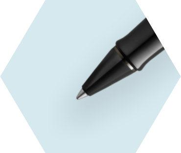 Metallic Silver Lacquer Rollerball Pen (Special Edition)