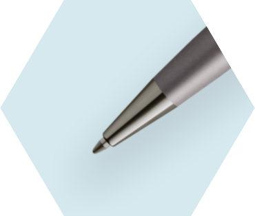 メタリックシルバーRT<br>ボールペン