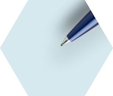 Stylo Bille  Bleu Finition chrome