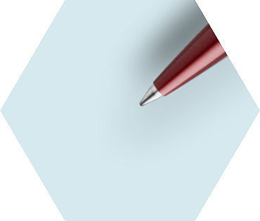 Stylo Bille  Rouge Finition chrome
