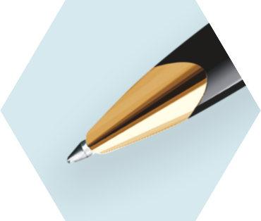 Deluxe Black Rollerball Pen GT