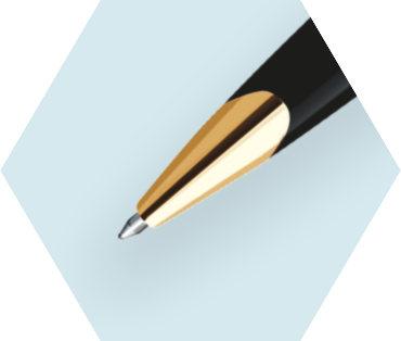 Deluxe Black Ballpoint Pen GT
