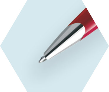 Glossy Red Ballpoint Pen CT
