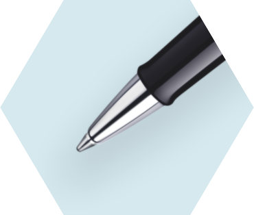 磨砂黑杆白夹宝珠笔