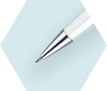 White Mechanical Pencil CT